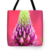 Hot Pink Lupine Tote Bag
