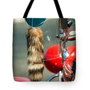Hot Rod Coon's Tail Tote Bag