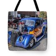 Hot Rod Car Tote Bag