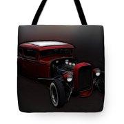 Hot Rod Ford Art Tote Bag