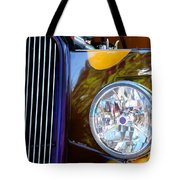 Hot Rod Show Car Light Tote Bag