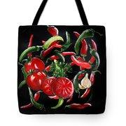 Hot Salsa Tote Bag