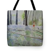 Hot Spring Bluebell Jogger Tote Bag