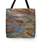 Hot Spring Detail Tote Bag