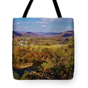 Hot Springs Overlook Tote Bag