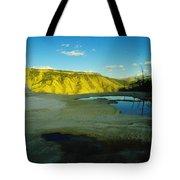 Hot Springs Yellowstone Tote Bag