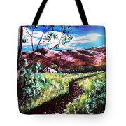 Hot Summer Day Tote Bag