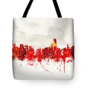 Hot Summer Day In Chicago Tote Bag
