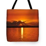 Hot Summer Sunrise  Tote Bag