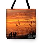 Hot Sunset Tote Bag