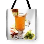 Hot Toddy Cocktail Marker Sketch Tote Bag