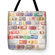 Hot Wheels Square Format Tote Bag