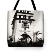 Hotel Agua Caliente Mexico Tote Bag