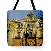 Hotel Alfonso Xiii - Seville Tote Bag by Juergen Weiss