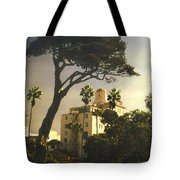 Hotel California- La Jolla Tote Bag by Steve Karol