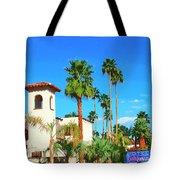 Hotel California Palm Springs Tote Bag