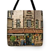 Hotel Central In Beaune France Tote Bag