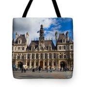 Hotel De Ville The Paris City Hall Tote Bag