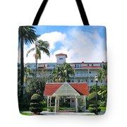 Hotel Del Courtyard Tote Bag
