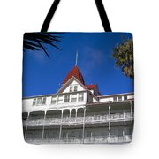 Hotel Del Courtyard View Tote Bag