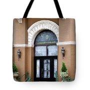 Hotel Door Entrance Tote Bag