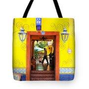 Hotel Estancia - Ajijic - Mexico Tote Bag