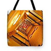 Hotel Hallway Tote Bag