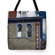 Hotel In Silverton Tote Bag