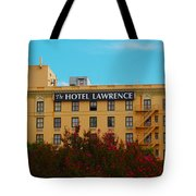 Hotel Lawrence Tote Bag