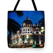 Hotel Negresco Tote Bag by Inge Johnsson