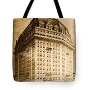 Hotel Pontchartrain Detroit 1910 Tote Bag by Mountain Dreams