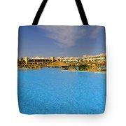 Hotel Resort Panorama Tote Bag