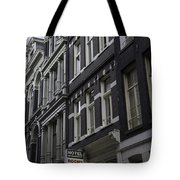 Hotel Rooms Clean And Simple Amsterdam Tote Bag