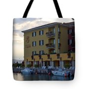 Hotel Sirmione. Lago Di Garda Tote Bag