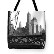Hotels Seen From Central Park  Tote Bag