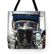 Hotrod Thunder Tote Bag
