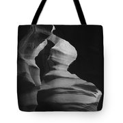 Hour Glass Bw Tote Bag