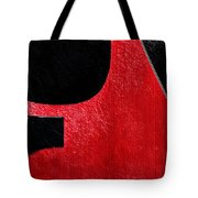 Hour Glass Guitar 4 Colors 1 - Tetraptych - Red Corner - Music - Abstract Tote Bag