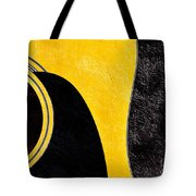 Hour Glass Guitar 4 Colors 1 - Tetraptych - Yellow Corner - Music - Abstract Tote Bag