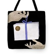 House And Garden Cover Illustration Of A Christmas Tote Bag