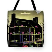 House And Garden Cover Illustration Of The Internal Tote Bag