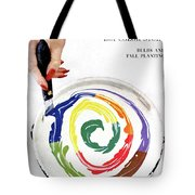 House & Garden Cover Of A Woman's Hand Stirring Tote Bag