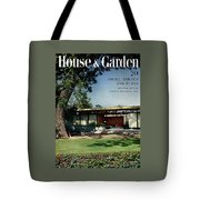 House & Garden Cover Of The Kurt Appert House Tote Bag