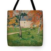 House Among Trees Tote Bag