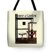 House And Garden Cover Featuring A Chinese Tote Bag