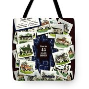 House And Garden Cover Featuring A Collage Tote Bag