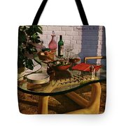 House And Garden Cover Featuring Brunch Tote Bag