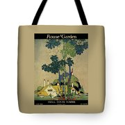House And Garden Cover Tote Bag by H. George Brandt