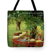 House And Garden Cover Tote Bag