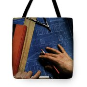 House And Garden Cover Of A Person Tote Bag